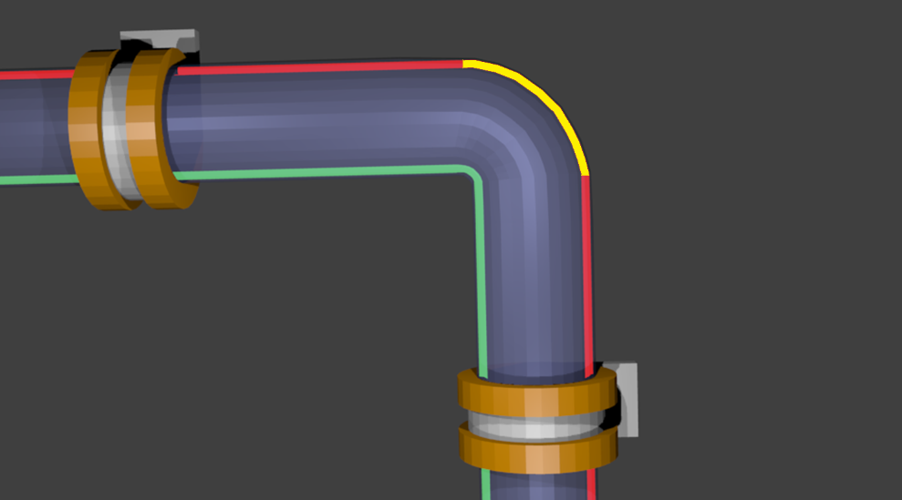 minimum bend radius as applied to aircraft wire system