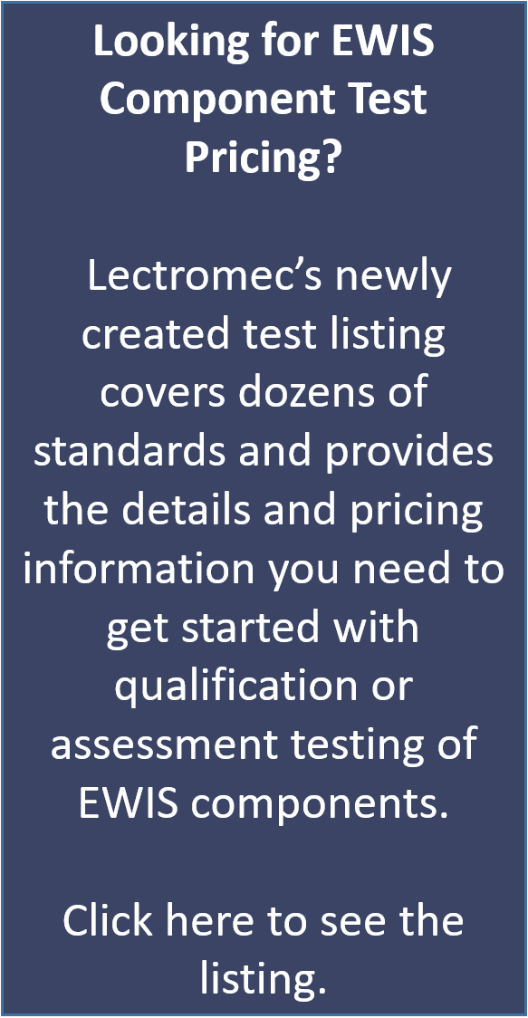 Wire and Cable Certification Testing | Lectromec
